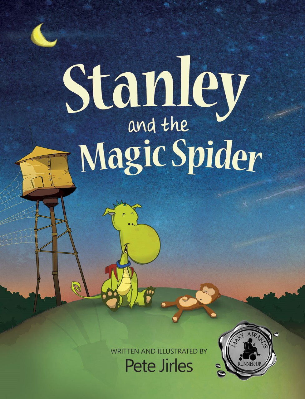 thumbnail Stanley and the Magic Spider full cover